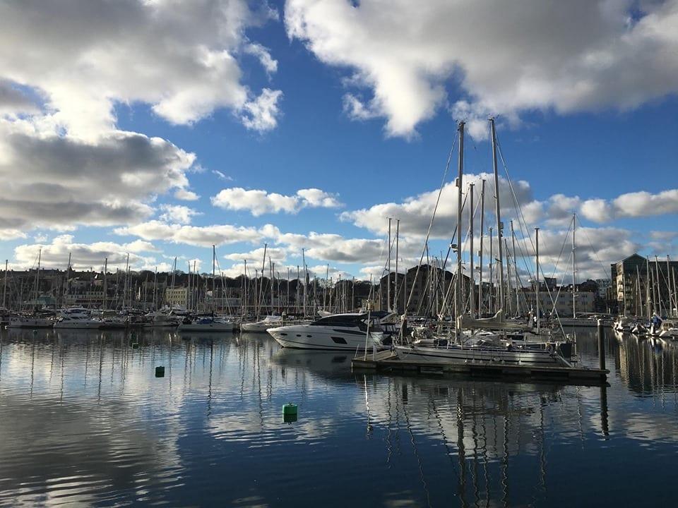 The Barbican, Plymouth. Boats, Marina, Sea, Devon