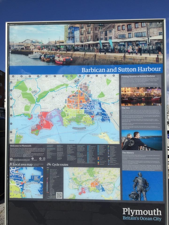 sutton harbor and the barbican