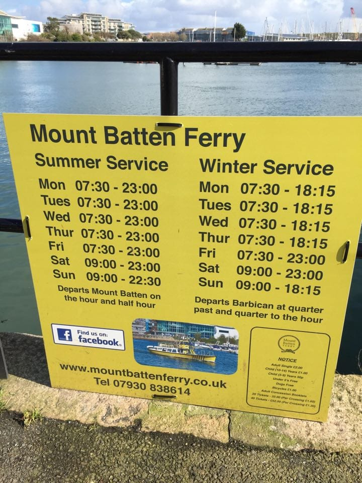 Mount Batten Ferry Plymouth - Plymouth With Kids