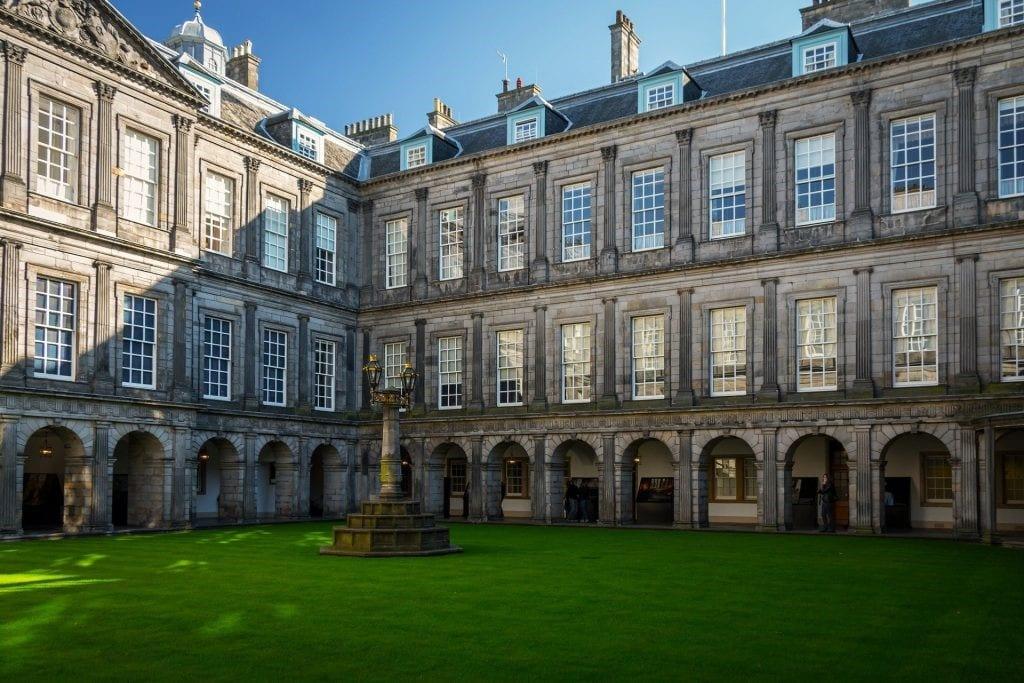 Holyrood House, Palace, Edinburgh, Scotland