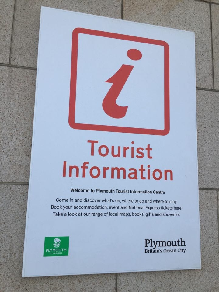 Plymouth's tourist information centre.