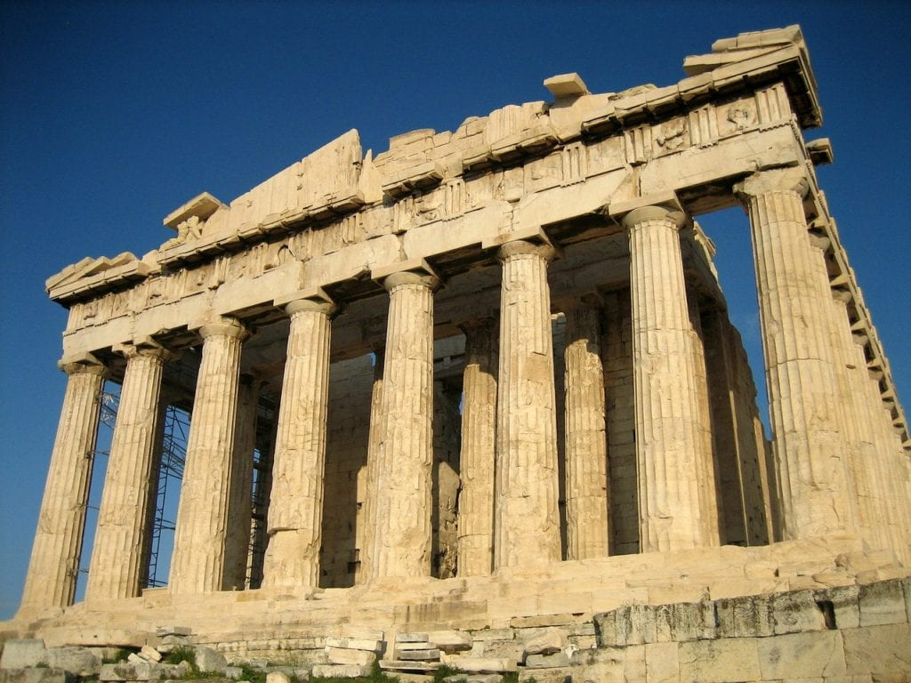acropolis, temple, parthenon, 24 hours in Athens