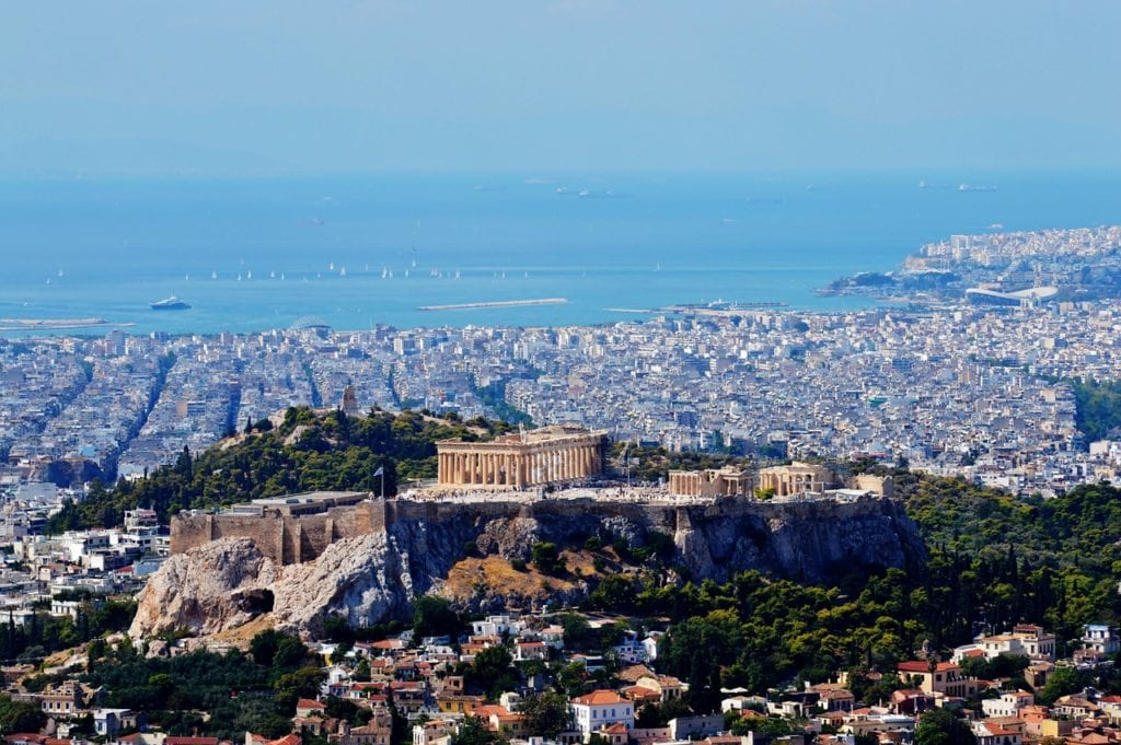 greek, athens, greece, Capital, Hill, Cityscape, Pireus, Backpacking Athens