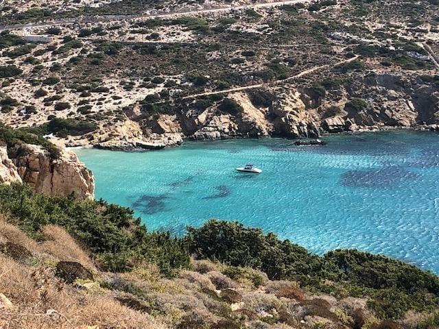 Donoussa, Greek Island, Beach, Cove, blue sea, Greece, Europe