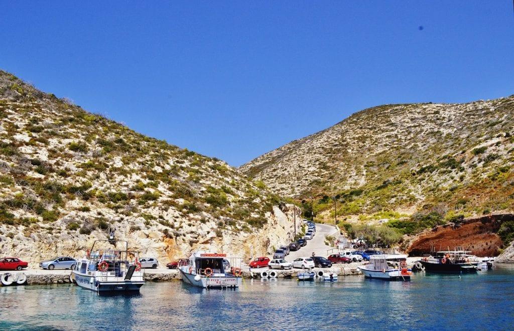 beautiful landscape, zakynthos island greece, port vromi, Backpacking Greece |The best islands for backpackers