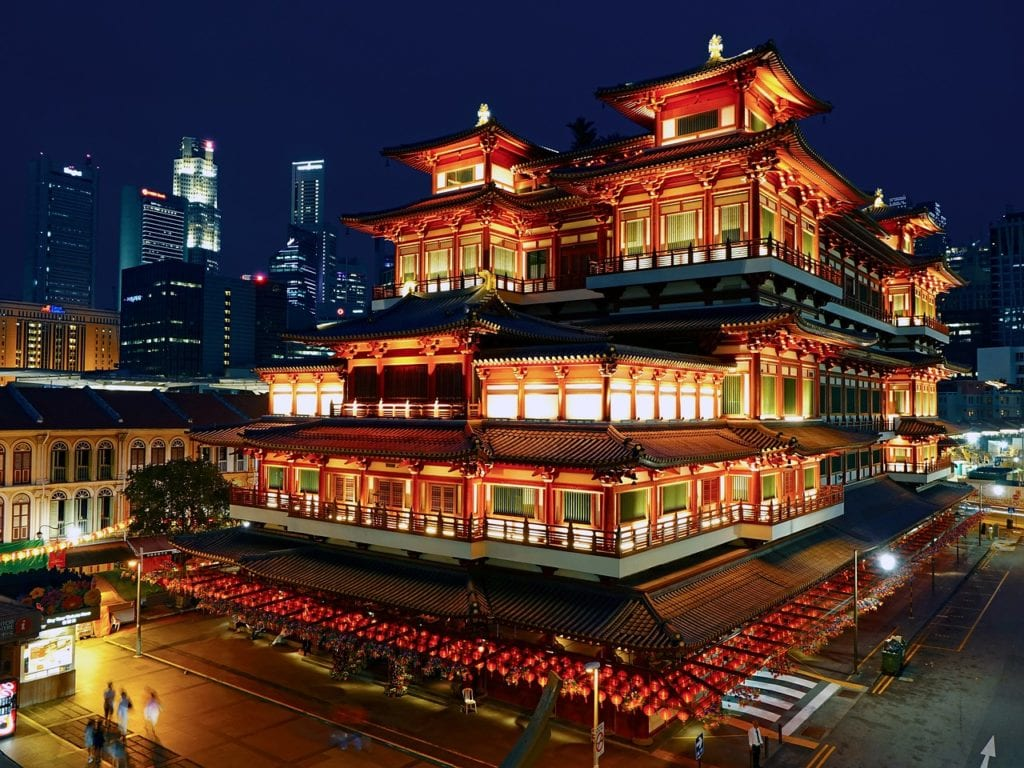 buddha tooth relic temple, singapore, chinatown, Things to do in Singapore, Travels With Eden, Things to do in Singapore| The Ultimate Guide