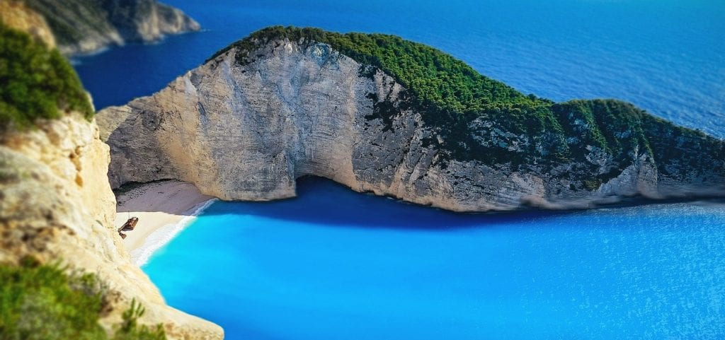 navagio, navagio beach, beach, Backpacking Greece |The best islands for backpackers