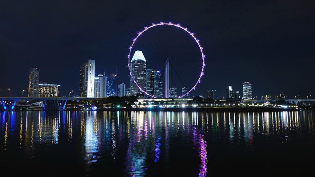 singapore, ferris wheel, big wheel, Singapore flyer, Things to do in Singapore, Travels With Eden, Things to do in Singapore| The Ultimate Guide