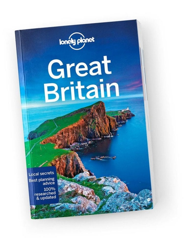 Lonely planet Great Britain Guidebook