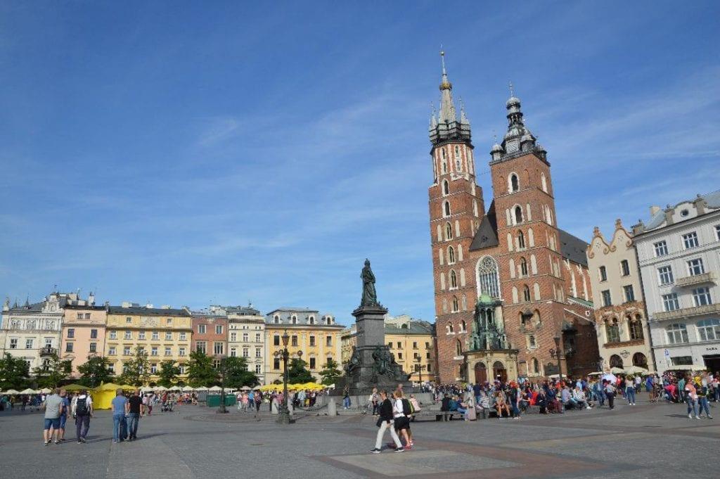 Krakow, Poland, Main Square, Europe, Poland With Kids