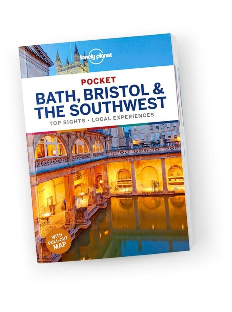 Lonely planet, bath, bristol and South west guide book