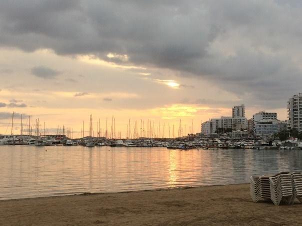 Sunset views from San Antonio Ibiza