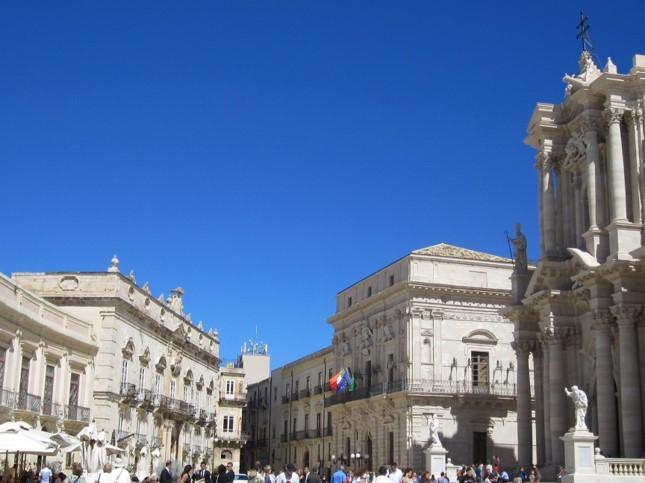 Piazza del Duomo | Sicily |Best European Citybreaks with kids