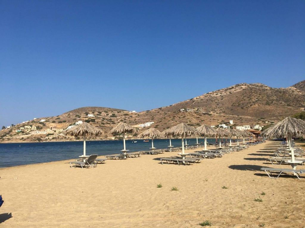 yialos beach, Ios, Ios port, ios with kids, cyclades islands