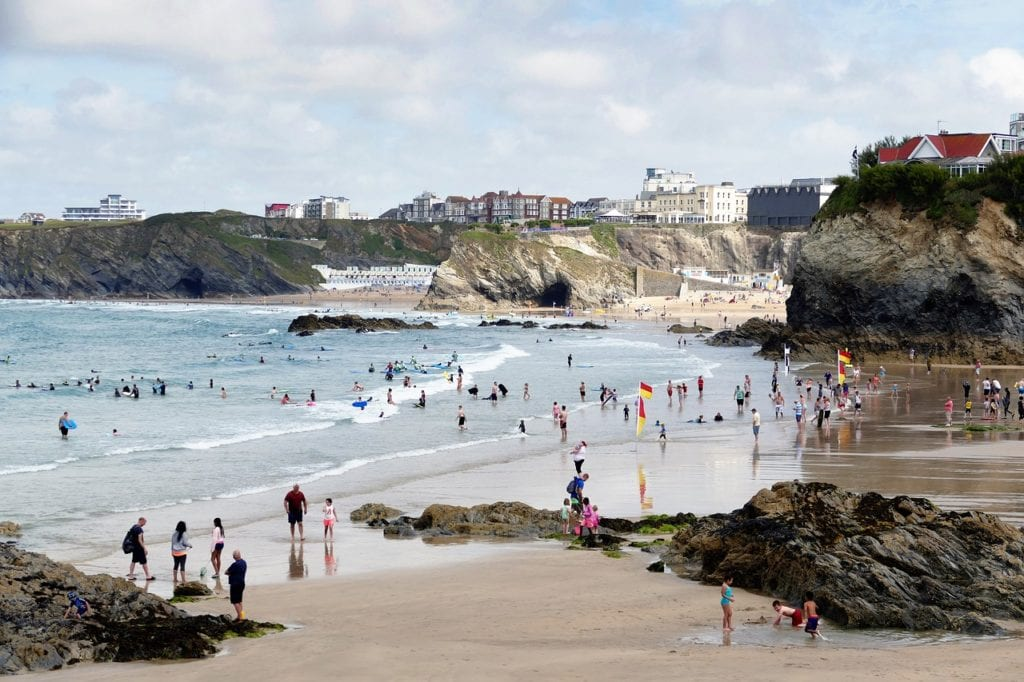 newquay, cornwall, england, Travels with Eden | day trips from St Ives to take with kids | things to do in Cornwall with kids