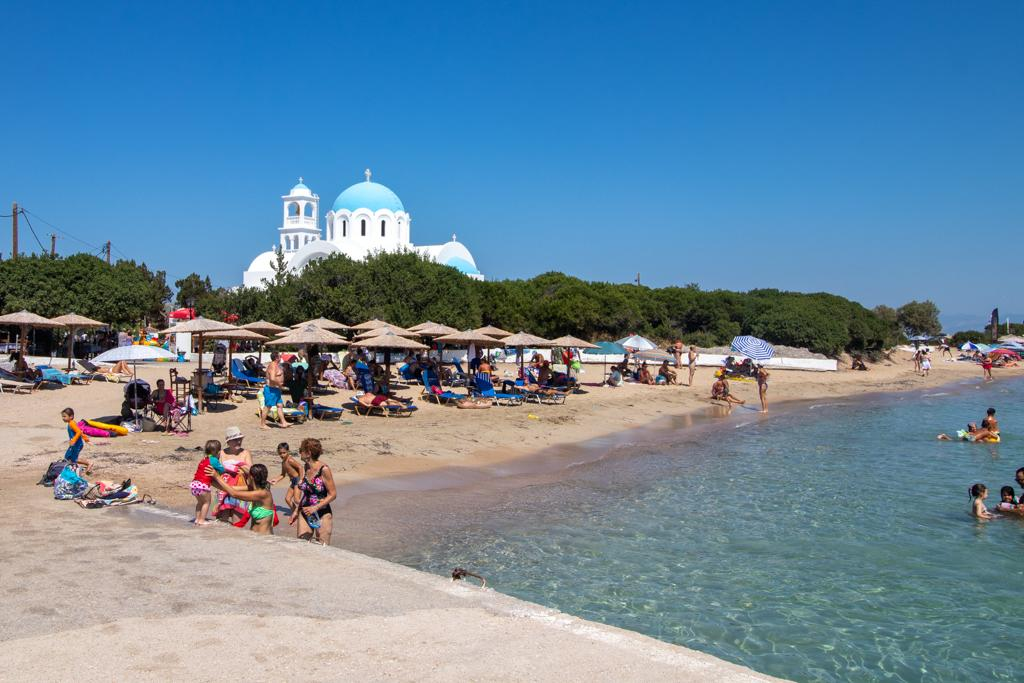 best beaches in Greece for families