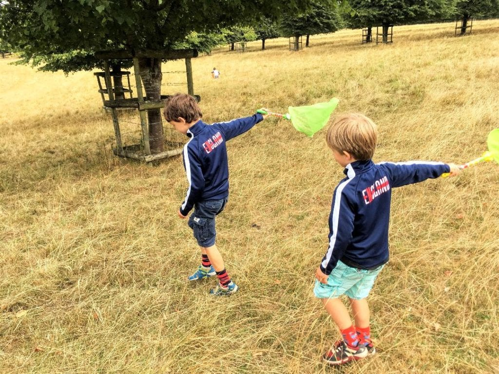 Children playing, dyrham park, Bristol, national trust, bristol day trips with kids, nature park, UK, south west uk