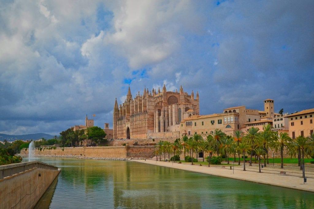 cathedral, palma, mallorca