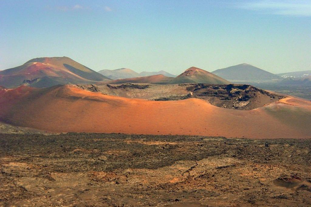 landscape, volcanic, lava, fuerteventura