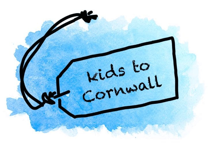 Cornwall | Travels with Eden, kids to Cornwall logo