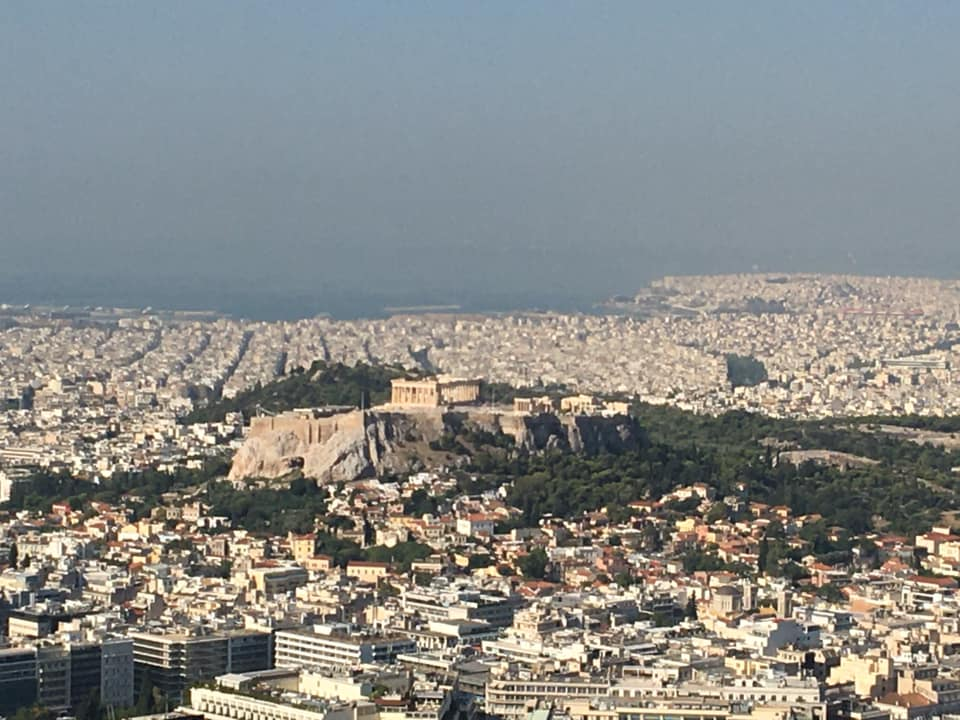 Mount Lycabettus Athens, Greece 2020, Athens with a baby, travels with eden greece