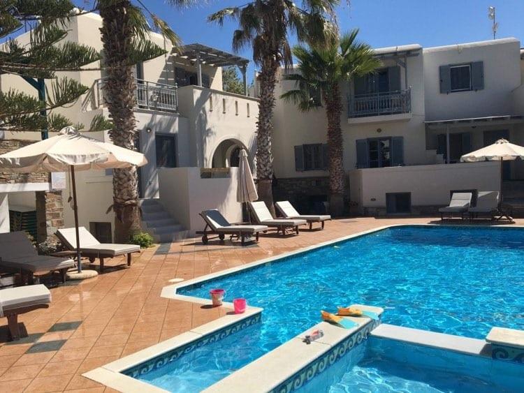 Ioanna apartments naxos, agios prokopios resort, where to stay in naxos