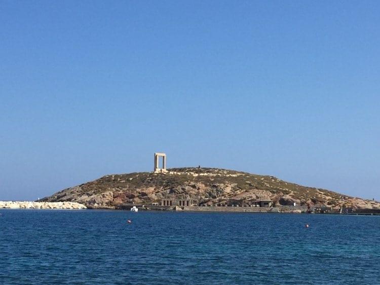 Naxos monument, Naxos town, portara