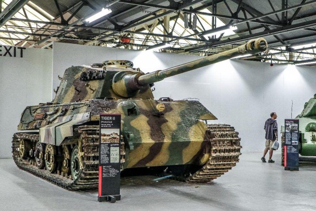 Bovington tank museum, army tank on display, Devon