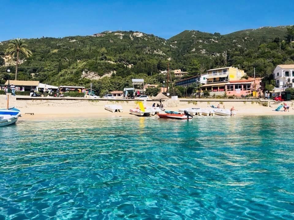 best greek islands for families, corfu, greek beach