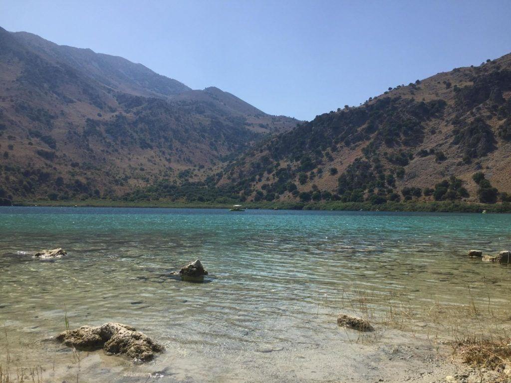 crete, Kournas lake, crete for families