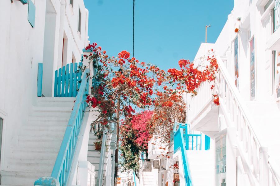 mykonos, best greek islands for families, cyclades