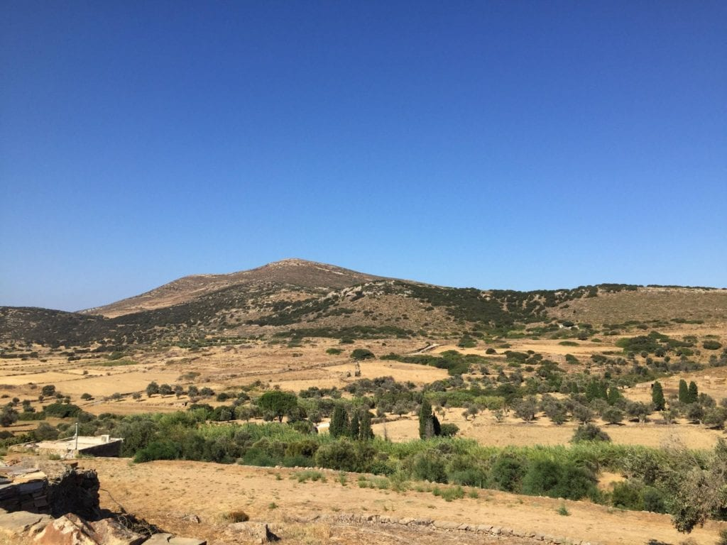 naxos mountains, Greece