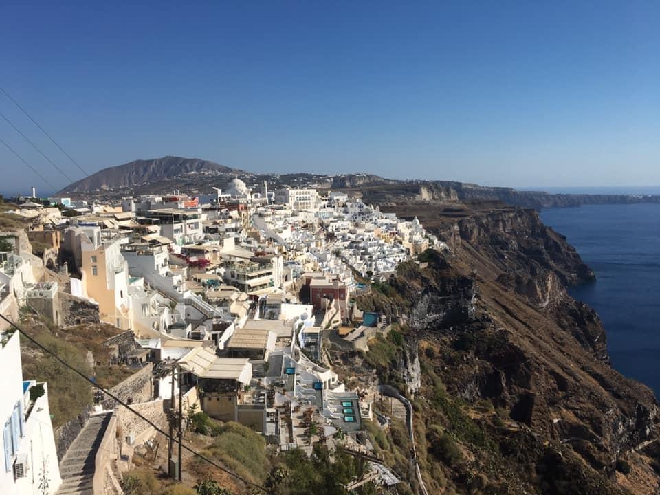 Santorini in one day, Fira