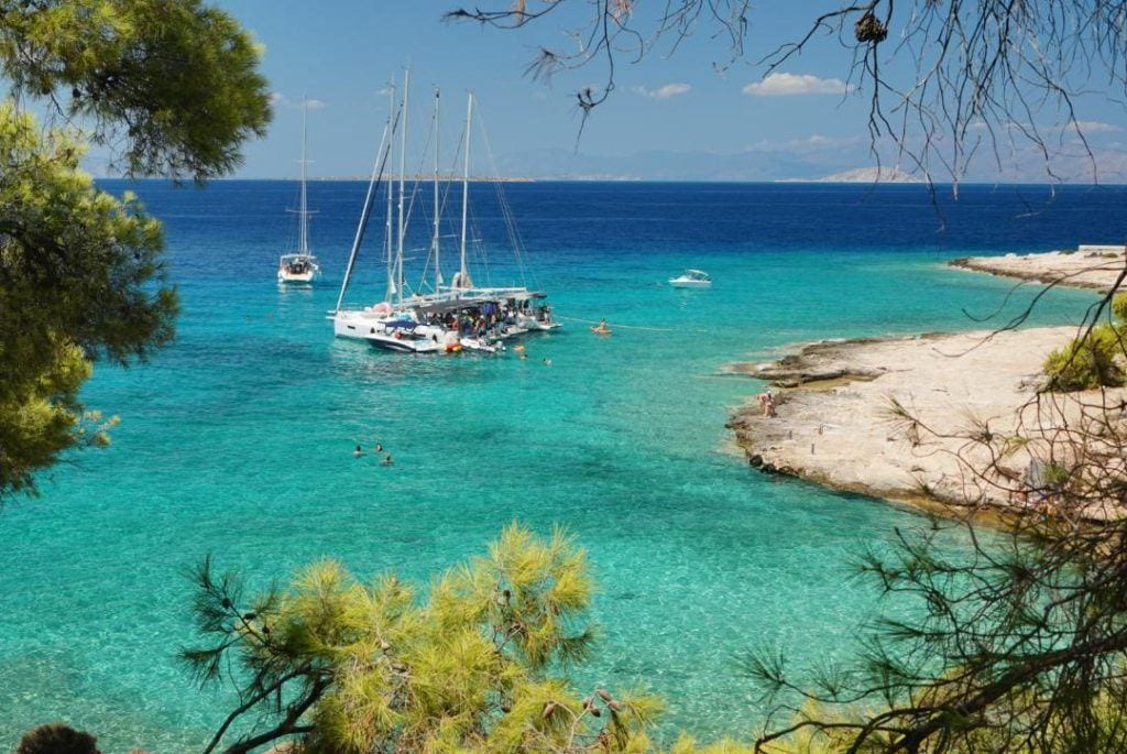aegina, best greek islands for families