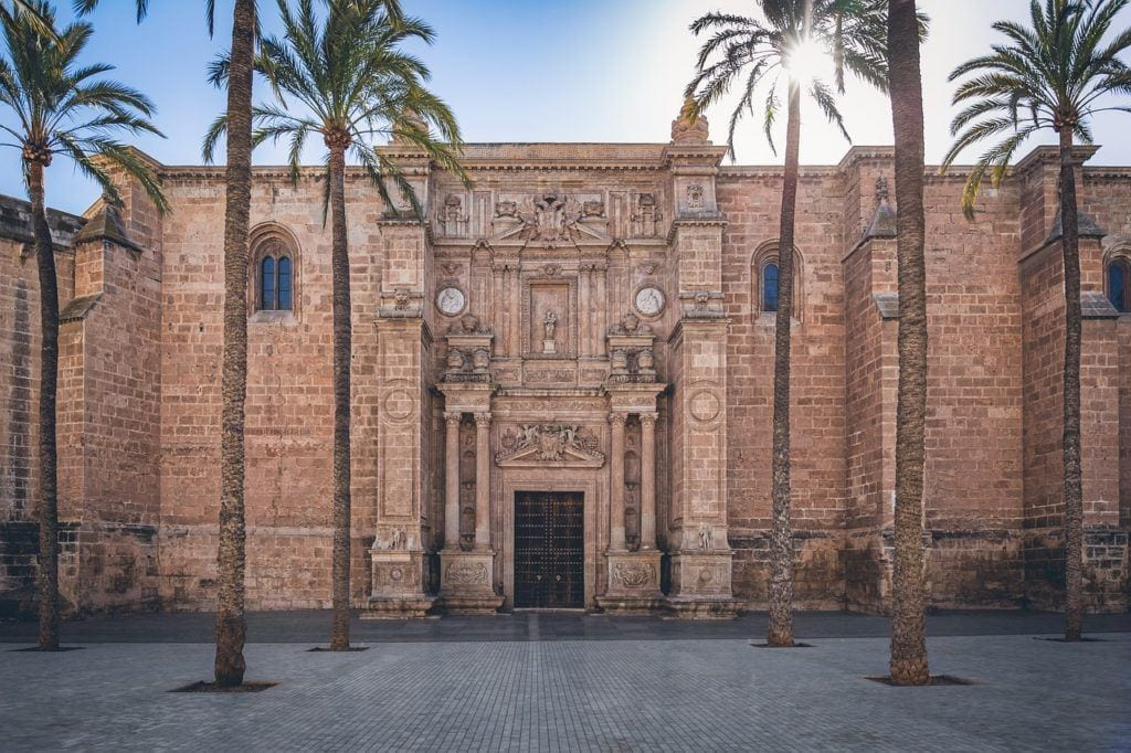almeria, cathedral, medieval,  spanish coastline, spain with kids, best coastal cities in spain.