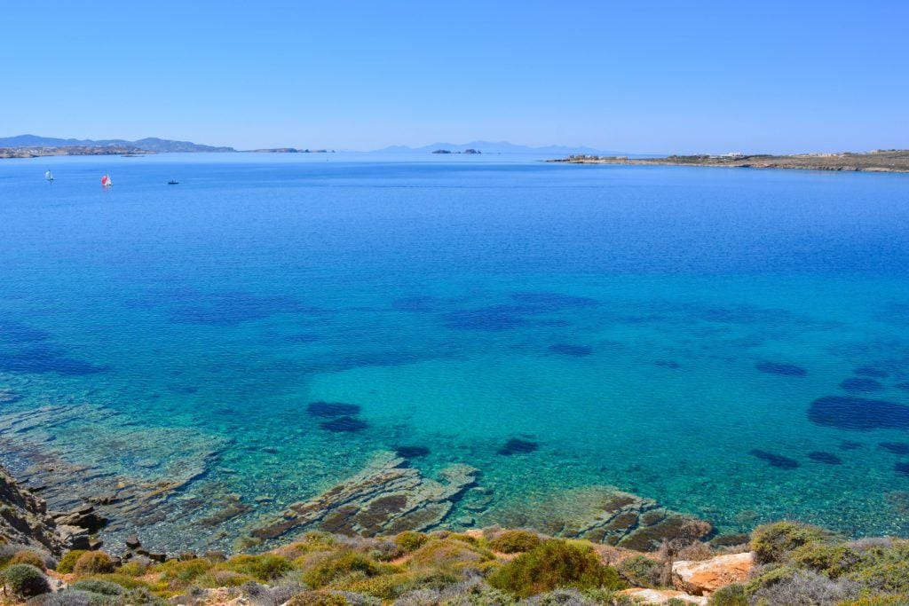 paros, best islands for families in greece