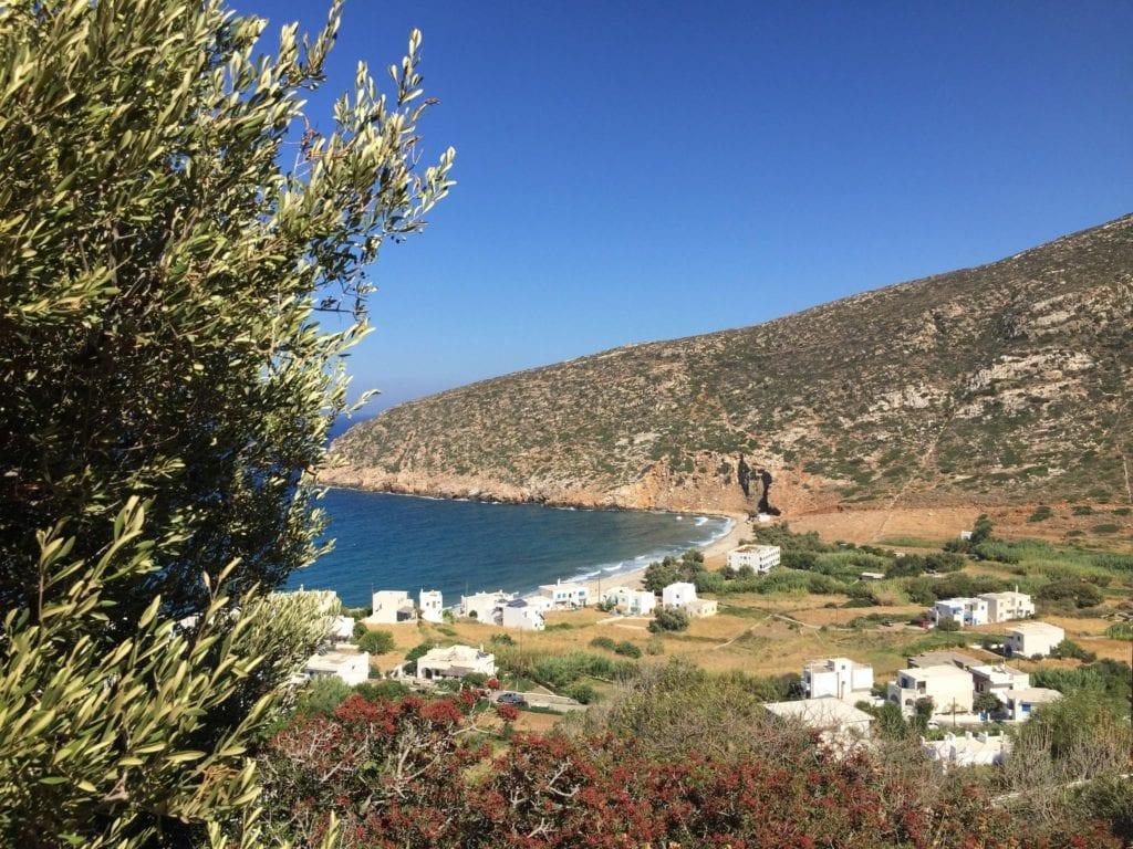 Apollonas villlage Naxos