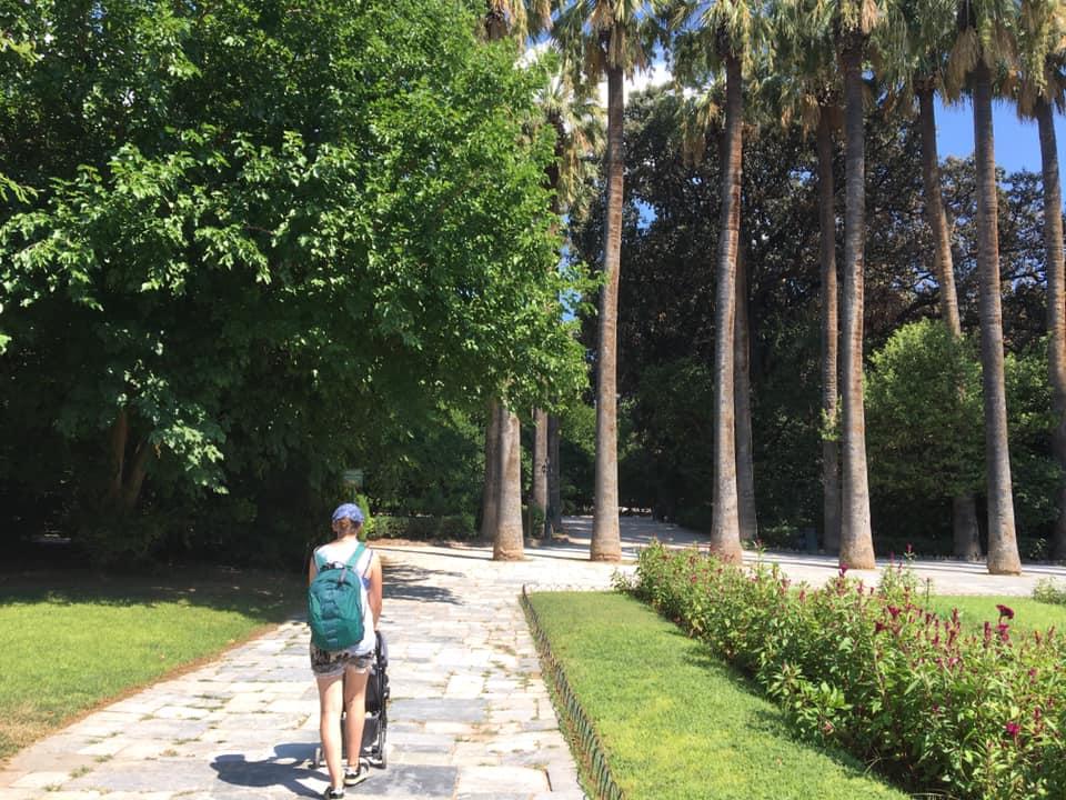 national gardens athens, athens botanical gardens