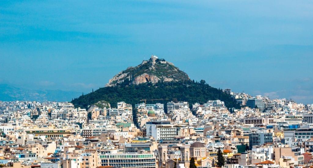 Mount Lycabettus, Athens, hill