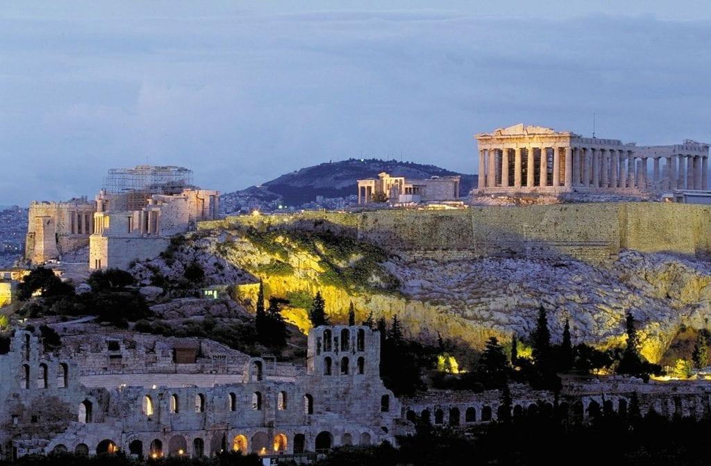 acropolis, parthenon, athens, athens itinerary