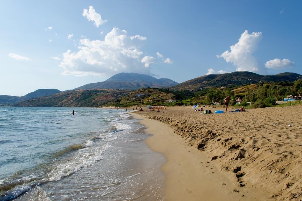 Kaminia beach Kefalonia
