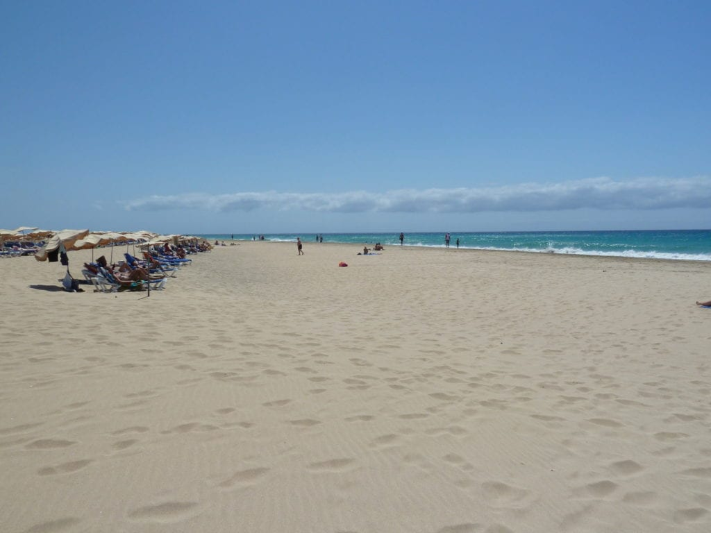 Morro Jable, Fuerteventura, Canary islands, best beaches in the Canary Islands