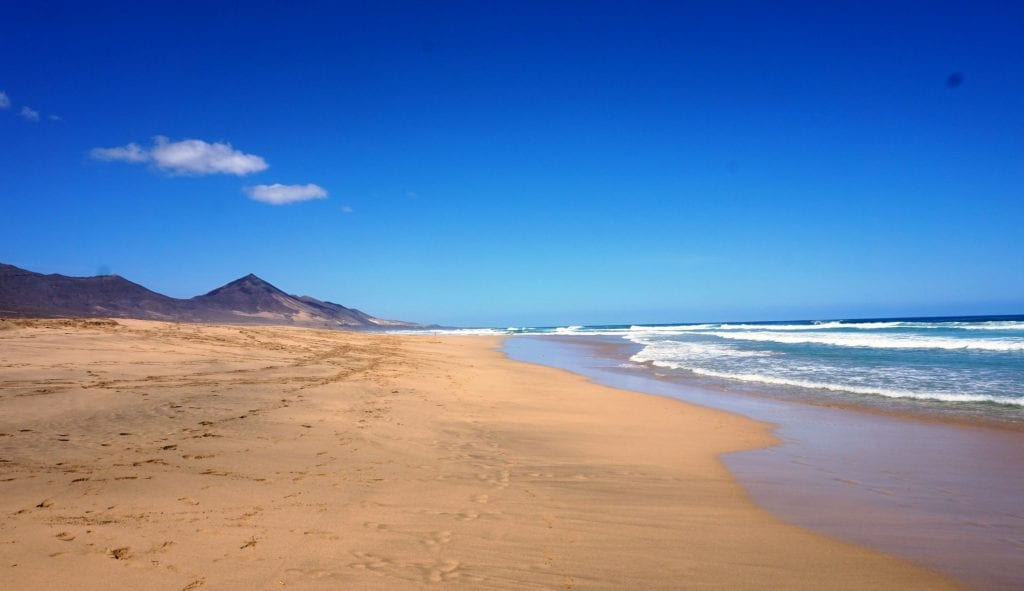 Cofete Beach, Fuerteventura, best beaches in the Canary islands, Canary islands with kids