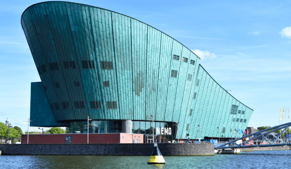 NEMO science museum, netherlands with kids