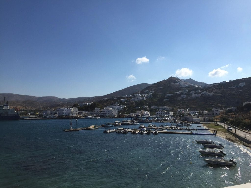 The view from Yialos church, Ios image, greece, cyclades