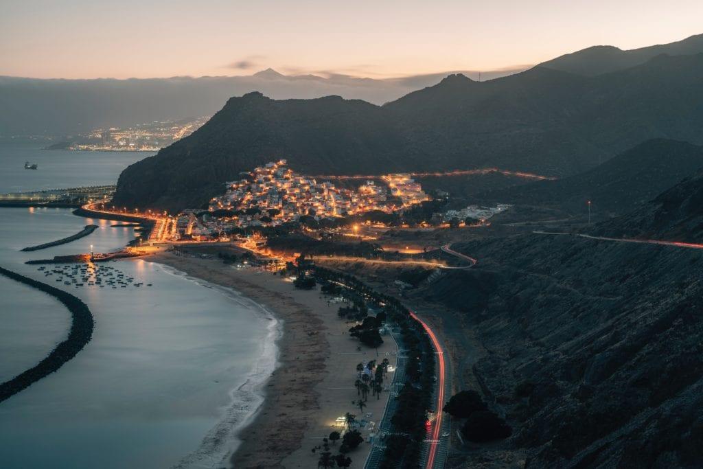 Playa Las Teresitas, best beaches in canary islands