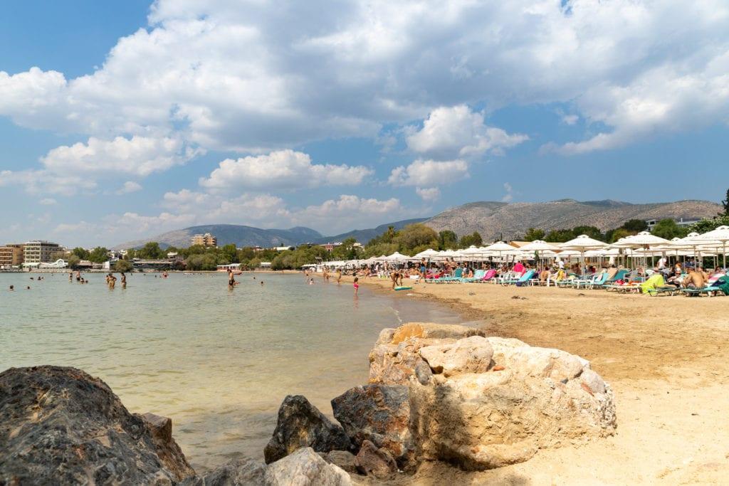 asteras beach, glyfada