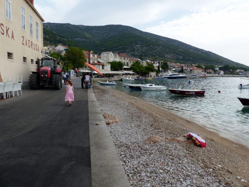 best islands in Croatia, seafront, brac, croatia with kids