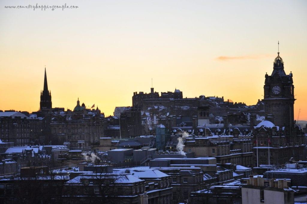 Edinburgh, Ednburgh in winter, Edinburgh city break