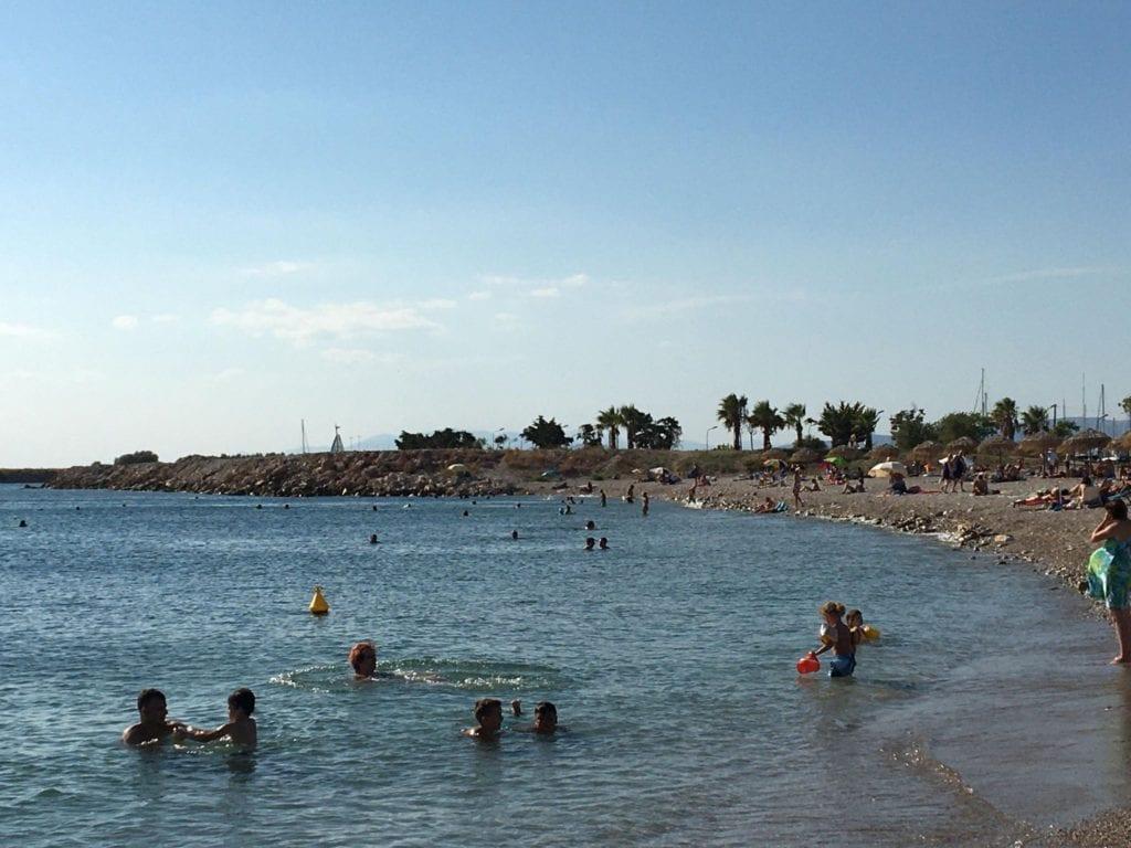 Glyfada beach Athens